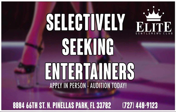 Entertainers Wanted